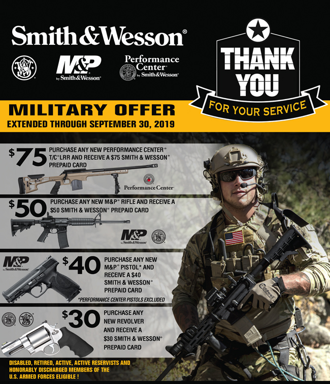Thank You For Your Service | Smith & Wesson