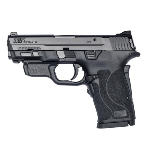 Smith & Wesson - M&P®9 SHIELD™ EZ® No Thumb Safety Crimson Trace® Red Laserguard®