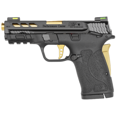 Smith & Wesson - Performance Center® M&P®380 SHIELD™ EZ® M2.0™ Gold Ported Barrel