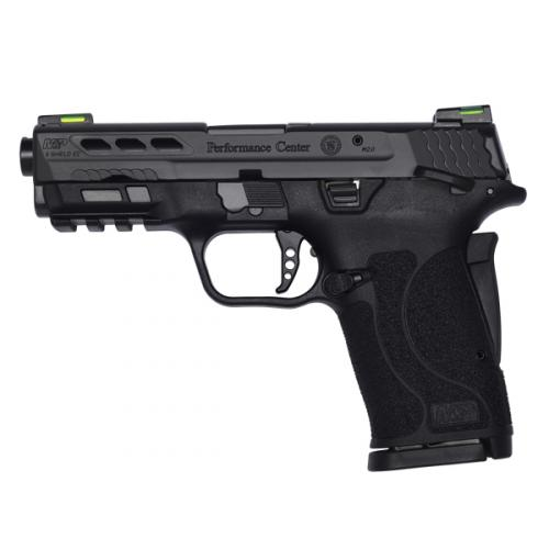 Smith & Wesson - Performance Center® M&P®9 SHIELD™ EZ® Black Ported Barrel Manual Thumb Safety