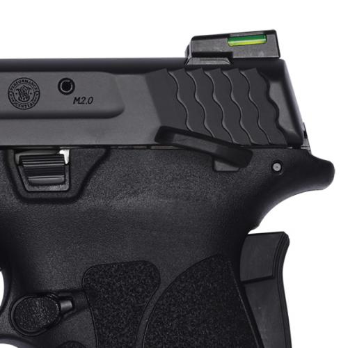 Smith & wesson - Performance Center® M&P®9 SHIELD™ EZ® Black Ported Barrel Manual Thumb Safety - 1