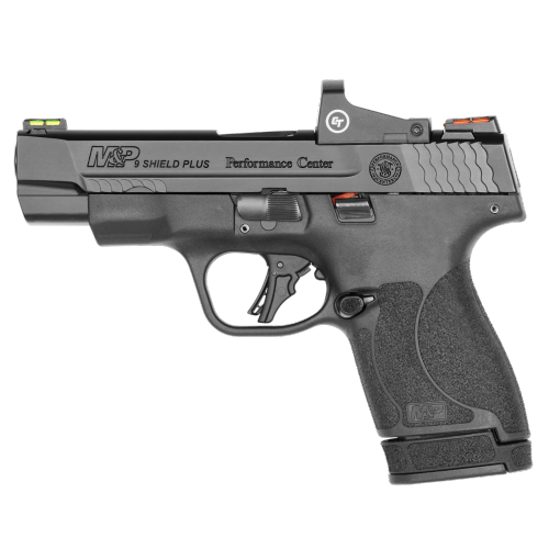 Smith & Wesson - Performance Center M&P 9 SHIELD PLUS CRIMSON TRACE