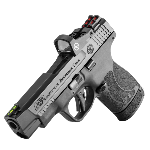 Smith & wesson - Performance Center M&P 9 SHIELD PLUS CRIMSON TRACE - 0