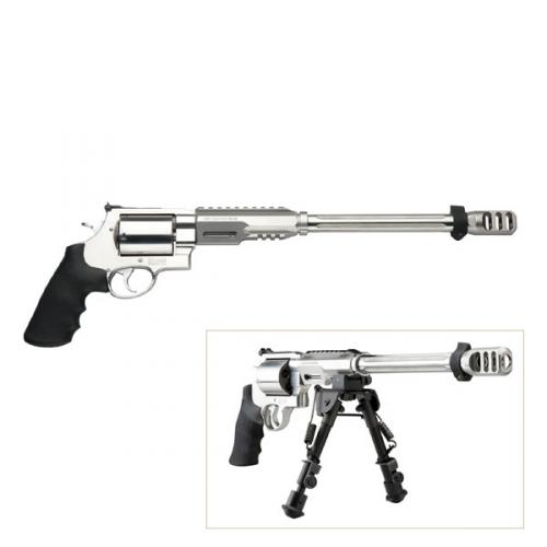 "Smith & Wesson - PERFORMANCE CENTER® Model 460XVR™ - 14"" Barrel with Bi-Pod"